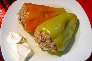 Изображение Фаршированные перцы с мясом и рисом 2 portion