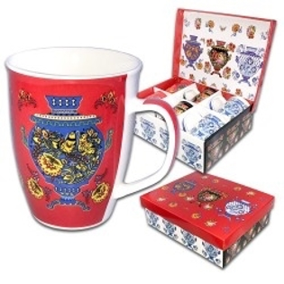 Picture of Set of 6 mugs, Samovar, 0.35 l, gift package