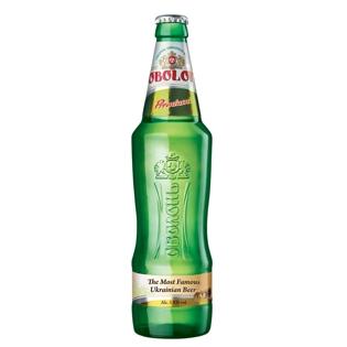 """Изображение Пиво """"Оболонь Премиум""""  Алк. 5,0% 0,5 л"""