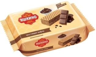 "Picture of Chocolate wafers ""Yashkino"" 200g"