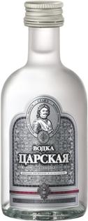 Picture of Tsarskaya vodka 40%, 0.05l (50 ml)