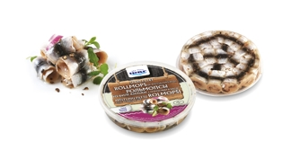 Picture of Sprat Fillet Rollmops of Spicy salting in Oil 150g