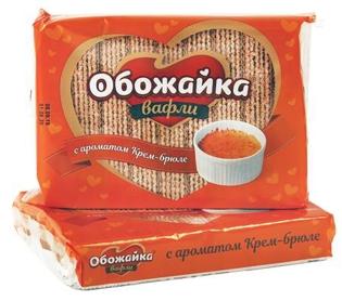 "Picture of Wafers ""Obojaika"" taste creme brulee  225g"