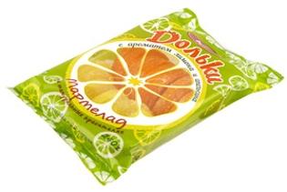 """Изображение Мармелад """"Апельсиновые и Лимонные Дольки"""", 240g"""
