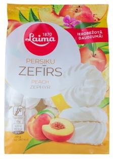Изображение  Зефир с ароматом персика, лайма 200г