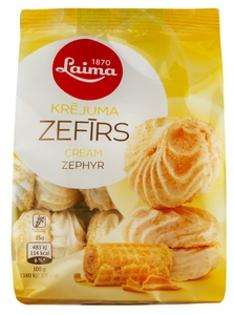 Изображение  Зефир со вкусом сливок, Лайма 200г