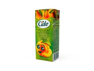 Изображение  Cido - персиковый нектар + витамин B6 200 мл