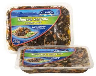 Изображение Atlantica Морская капуста с овощами 250g