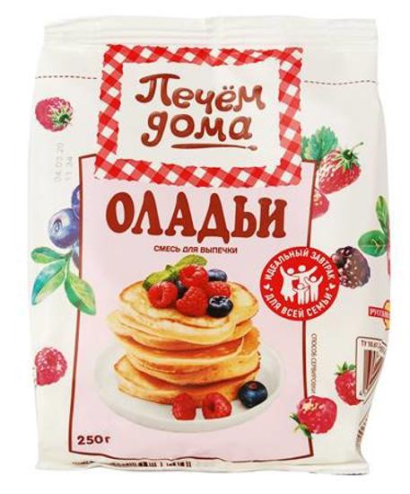 """Изображение Печем Дома смесь """"Оладьи"""" 250г"""