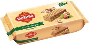 """Изображение  Вафли """"Яшкино"""" ореховые 300г"""