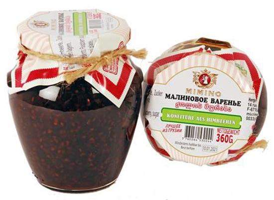 Picture of Mimino Raspberry Jam 370ml
