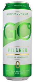 """Изображение  Пиво в банке, безалкогольный лагер """"Go"""", Aldaris 0,5% Alc. 0.5L"""