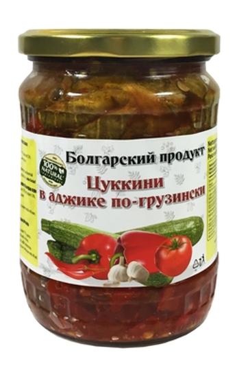 Picture of Zucchini in Georgian style adjika 580ml