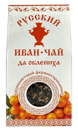 Изображение Иван-чай 50гр - крупнолистовой с облепихой
