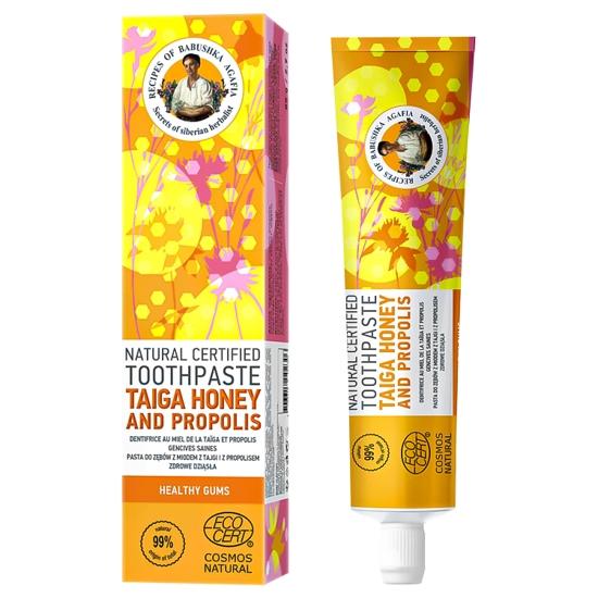 Изображение Зубная паста Таёжный мёд и прополис 85 г