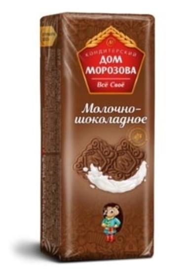 Изображение Печенье Морозов «Молочно-шоколадное»290г