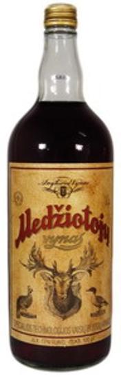 "Picture of Wine, Red, Sweet ""Medziotoju"" 17% Alc. 1L"