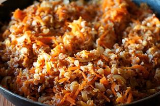 Изображение  Гречка с морковью и луком - 1 пор.