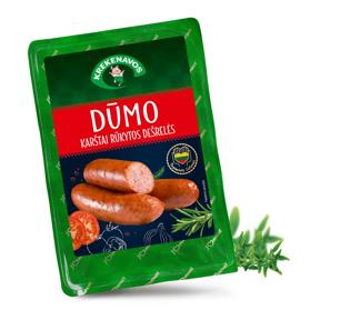 Picture of Krekenavos Bajoru Dumo Hot Smoked Sausages 500g