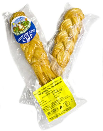 Picture of Native Village Cheese Adygeiskij Braided Smoked 100g