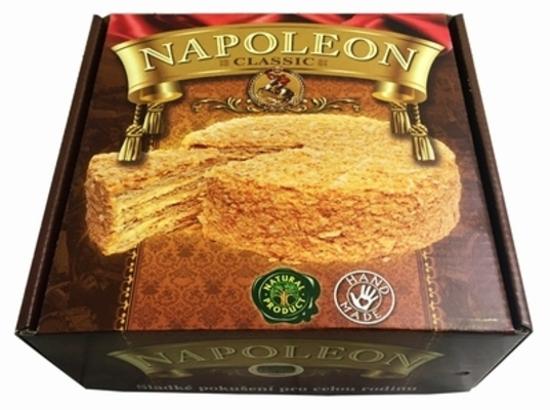 """Изображение Торт """"Наполеон"""" (подарочная упаковка) 800г."""