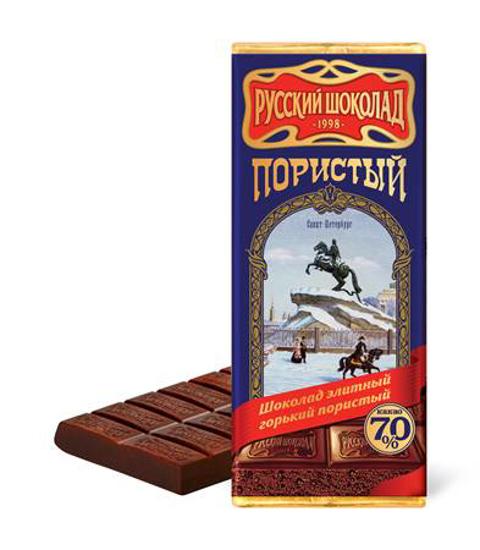 Изображение Шоколад Элитный горький пористый 90g