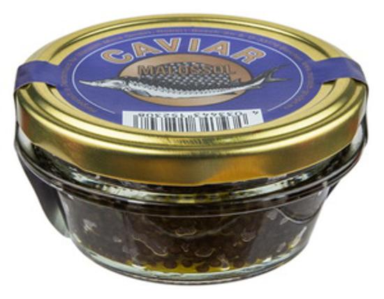 Picture of Caviar, Sturgeon, Black  100g