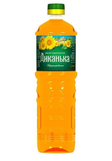 "Picture of Sunflower Oil, neraf. ""Dikanka"" 1L"