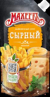 Изображение  МАХЕЕВ - сырный соус, 200г