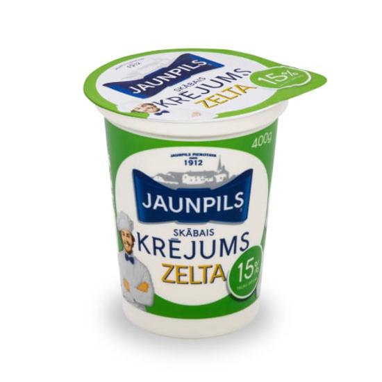 Picture of Jaunpils pienotava - Sour Cream 15%, 400g