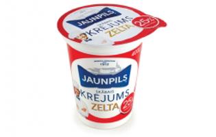 "Picture of Sour Cream ""Zelta"" 25%"