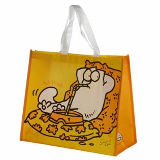 Picture of Simon's Cat Yellow Shopping Bag - 1 pcs