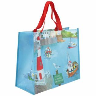 Picture of Jan Pashley Seaside Design Shopping Bag