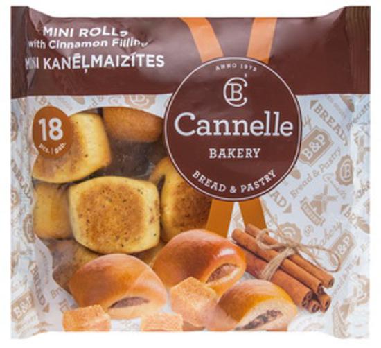 Изображение  Мини-роллы с начинкой из корицы, Cannelle 260g