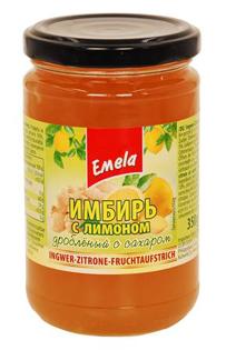 Изображение Имбирь с лимоном дробл. с сахаром 350г