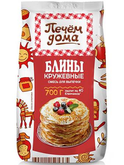 """Picture of Bake at Home a mixture of """"Lace Pancakes"""" 700g"""