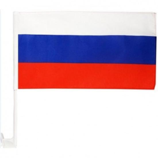 """Изображение Флаг на машину """"Россия"""" - 1 pcs"""