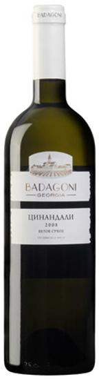 Изображение Вино Badagoni Цинандали белое/сухое 13% 0,75L