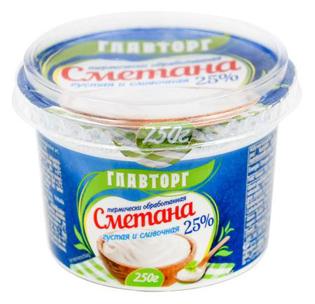 Picture of Sour cream 25%, 250g