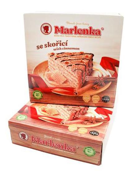 Picture of Marlenka Cake Honey with Cinnamon 800g