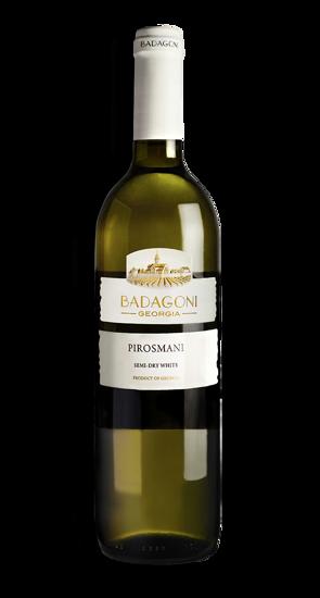 Изображение Вино Badagoni Пиросмани белое 11% 0,75L