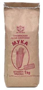 Изображение Mimino Мука Кукур белая грузинская 1kg