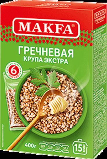 Изображение Крупа гречневая MAKFA в пакетиках 400g