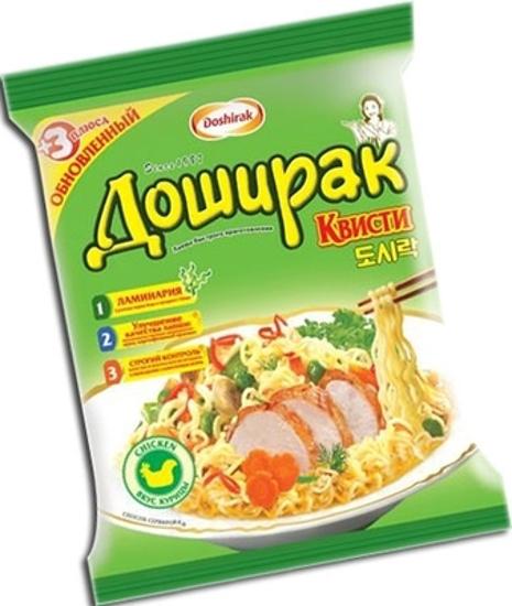"""Изображение Лапша быстрого приготовления """"Доширак-Квисти"""" с куриным вкусом 70г"""