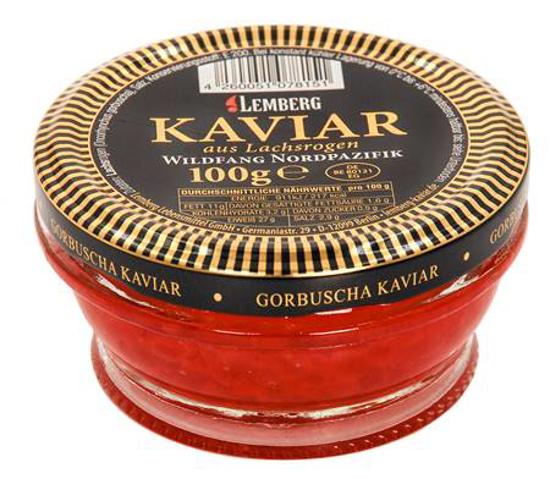 Picture of Lemberg Pink Salmon Caviar 100g PREMIUM