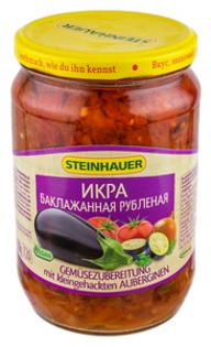"Picture of Salad, Aubergine Paste ""Ikra Baklazhannaya Krupnorublen"" 720ml"