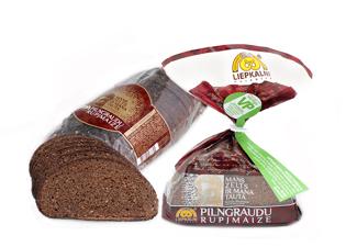Изображение Ржаной хлеб с зерновыми хлопьями 400г