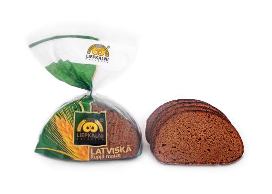 Изображение Латвийский ржаной хлеб 400г