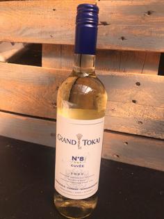 """Изображение Белое сухое вино """"Nr. 8 Cuvee"""", Токайи 11,5% Алк. 0,75 л"""