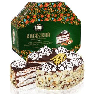 Изображение Киевский Торт Безе с орехами 650g
